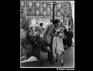 El ramo de junquillos, Paris 1950 – Robert Doisneau