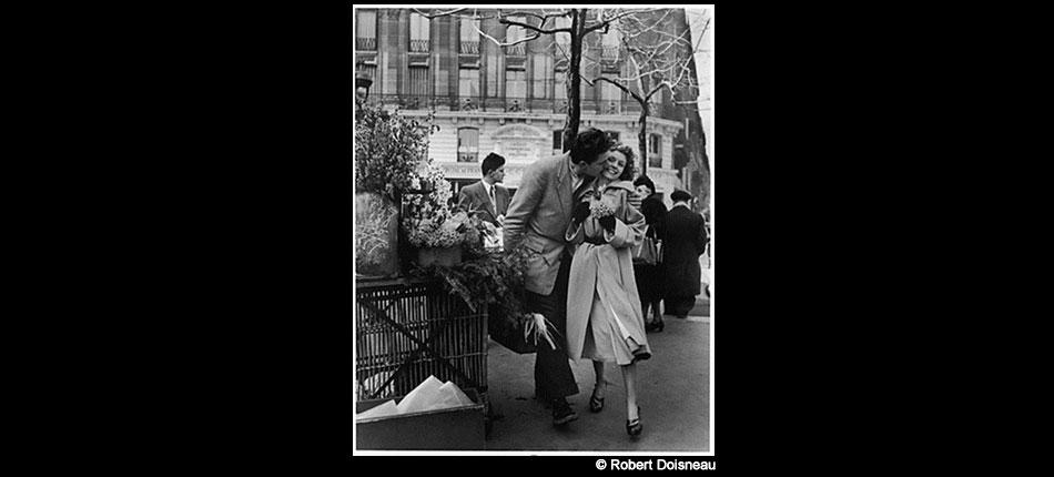 Le bouquet de jonquilles, Paris 1950 – Robert Doisneau